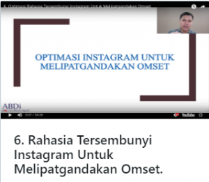 Training Online Akademi Bisnis Digital 2