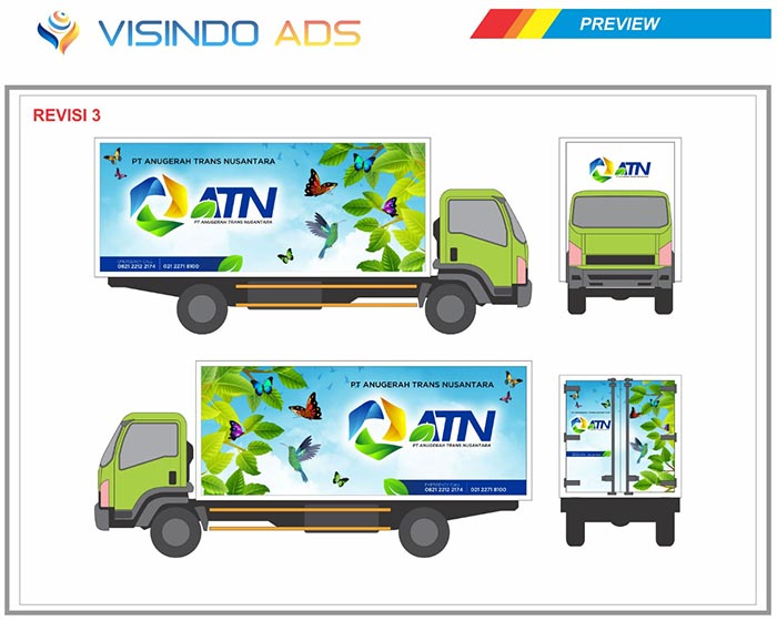Preview Vidio Ads Jasa Branding Mobil No. 1 Di Indonesia Landing Page 2